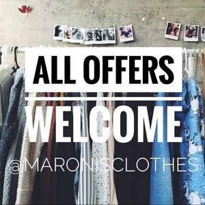 Welcome to @maronisclothes - all offers welcome!